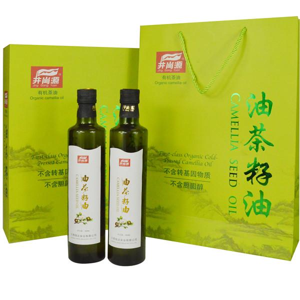 井崗源山茶油精裝禮盒500ml*2