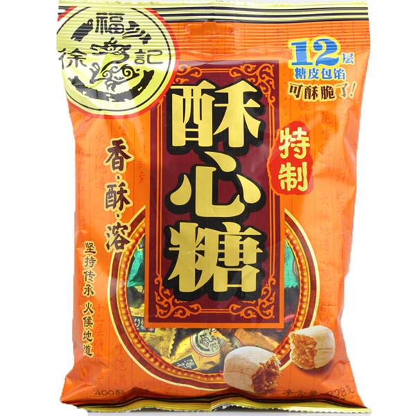 徐福記酥心糖328g
