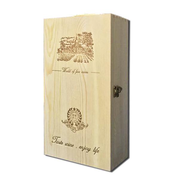 澳大利亞禾福山谷赤霞珠干紅葡萄酒木雙支禮盒