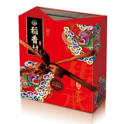 稻香村禧團圓雙層糕點禮盒590g