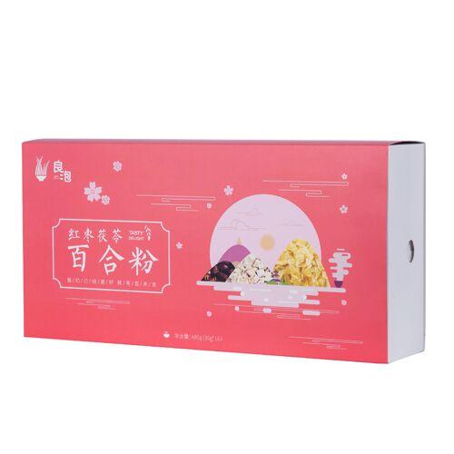 紅棗茯苓百合粉禮盒480g