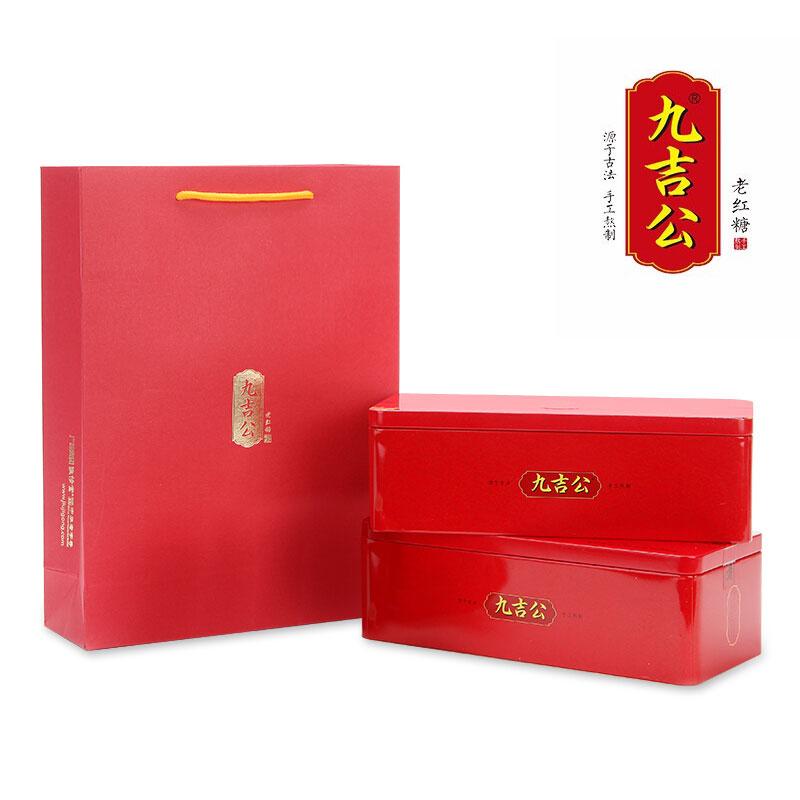 九吉公老紅糖鐵盒裝400g*2