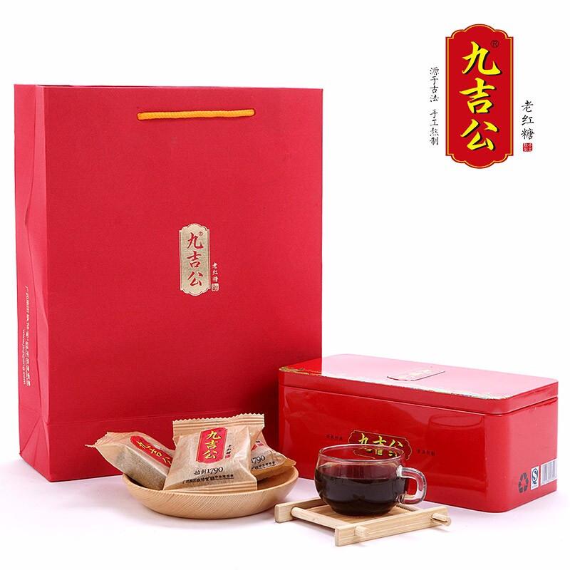 九吉公老紅糖鐵盒裝400g