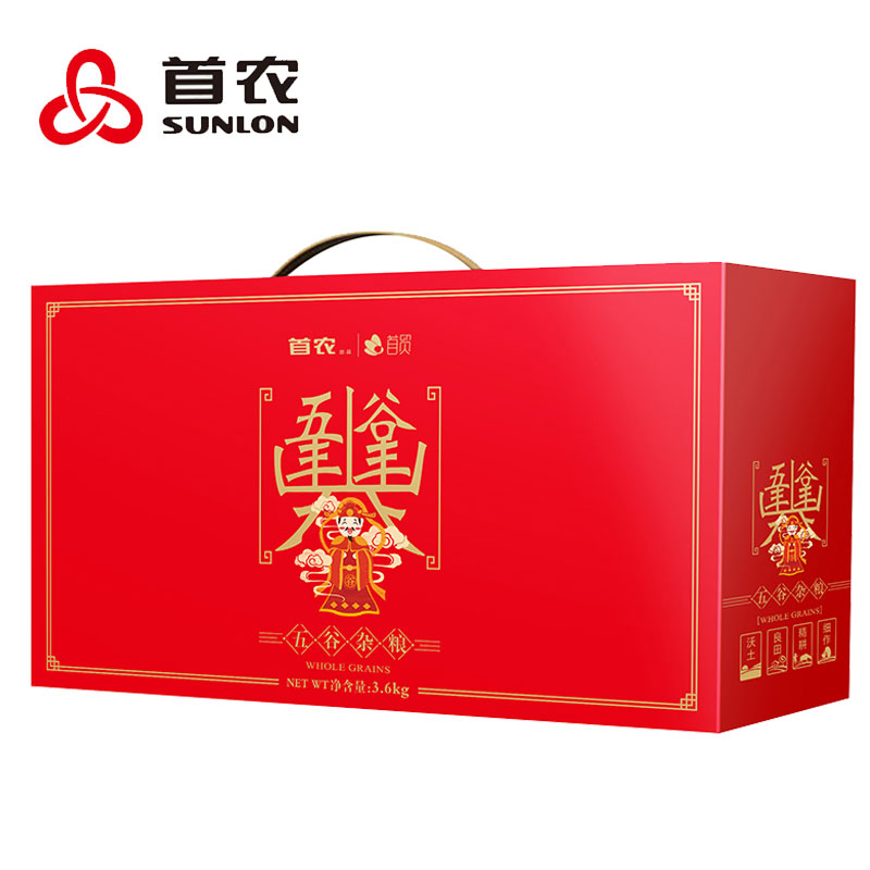 首農五谷豐年雜糧禮盒3600g