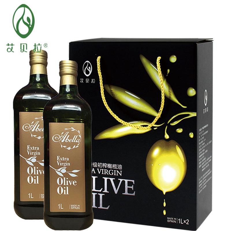 艾貝拉橄欖油 特級初榨橄欖油禮盒1l*2