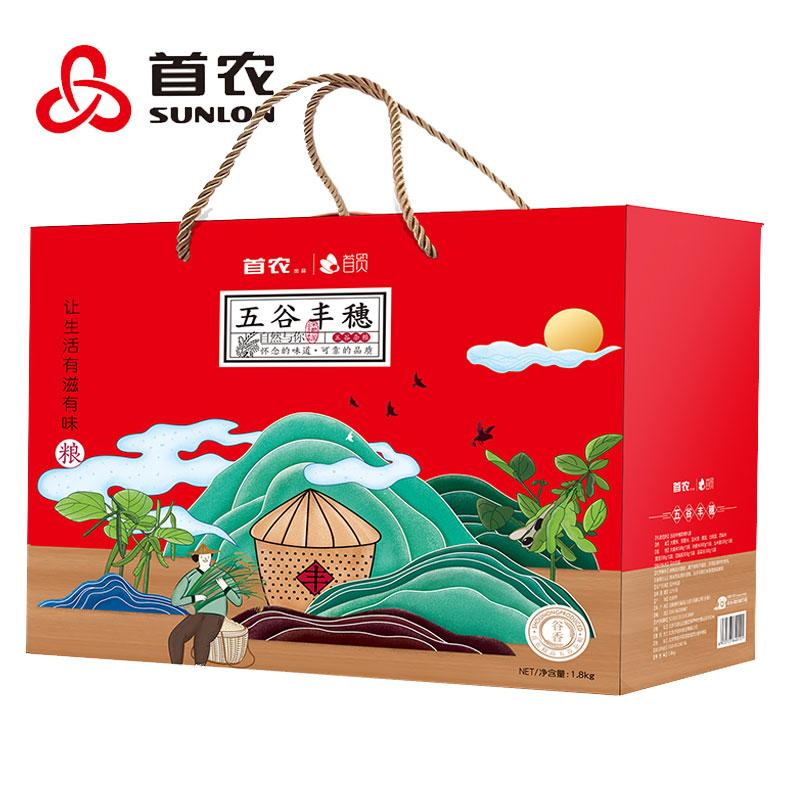 首農五谷豐穗雜糧禮盒1800g