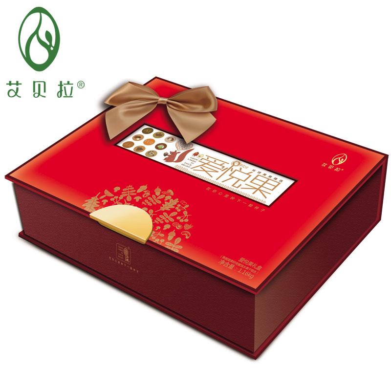 艾贝拉爱悦果干果礼盒1160g(罐装)