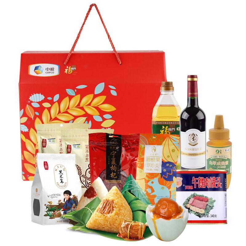 中糧端午大禮包300型禮盒2048g+1650ml
