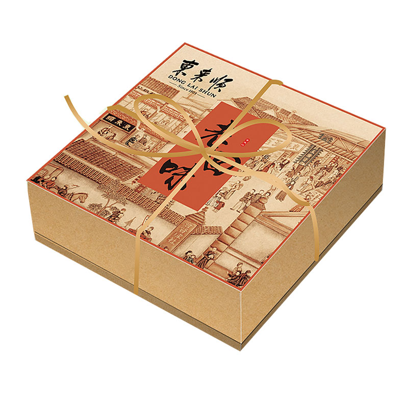 東來順老回味月餅禮盒480g