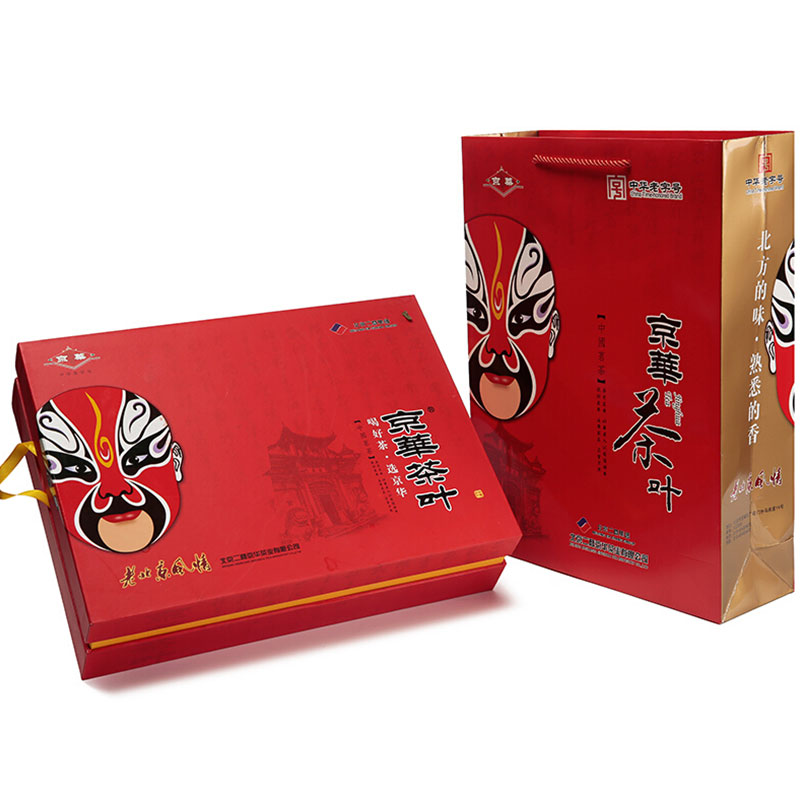 京華臉譜小葉花茶禮盒500g