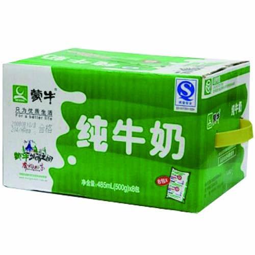 [蒙牛]利樂枕純牛奶500ml