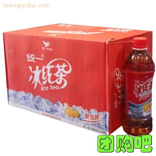 [統一飲料]統一冰紅茶整箱裝 500ml*15